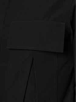 Рубашка С Накладными Карманами SONG FOR THE MUTE                                                                                                              черный цвет
