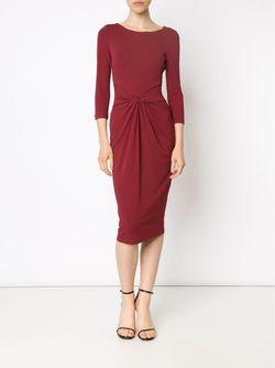 Облегающее Платье С Перекрученной Деталью Michael Kors                                                                                                              красный цвет