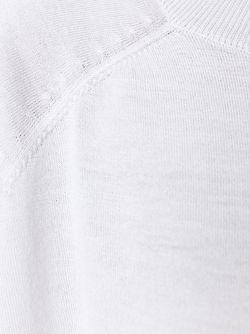 Свитер С Круглым Вырезом Cividini                                                                                                              серый цвет