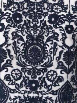 Блузка С Жаккардовым Узором Sea                                                                                                              синий цвет