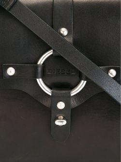 Сумка-Тоут С Откидным Клапаном Diesel                                                                                                              черный цвет