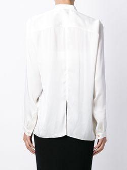 Рубашка С Драпированными Деталями Maison Rabih Kayrouz                                                                                                              Nude & Neutrals цвет