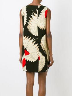 Платье Шифт С Геометрическим Узором Antonio Marras                                                                                                              чёрный цвет