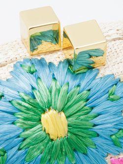 Тканый Клатч С Цветочным Принтом SERPUI                                                                                                              Nude & Neutrals цвет