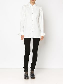 Классическая Рубашка CHEREVICHKIOTVICHKI                                                                                                              белый цвет