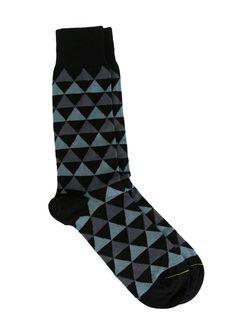 Носки С Геометрическим Узором Paul Smith                                                                                                              синий цвет