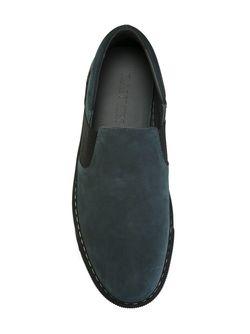 Кеды-Слипон Lanvin                                                                                                              синий цвет