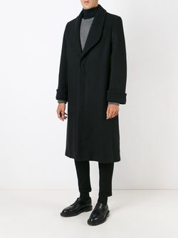 Shawl Lapel Single Breasted Coat J.W. Anderson                                                                                                              черный цвет