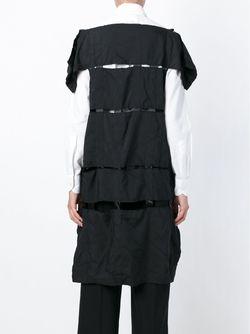 Платье С Панельным Дизайном Comme Des Garcons                                                                                                              чёрный цвет