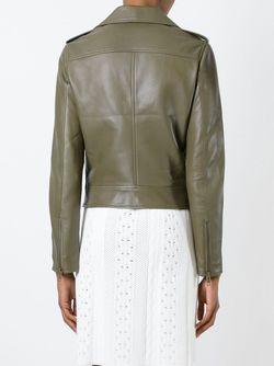 Байкерская Куртка SCANLAN THEODORE                                                                                                              зелёный цвет