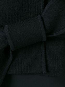 Укороченный Жакет С Поясом SCANLAN THEODORE                                                                                                              черный цвет