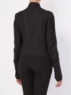 Асимметричный Пиджак В Стиле Милитари Ann Demeulemeester                                                                                                              черный цвет