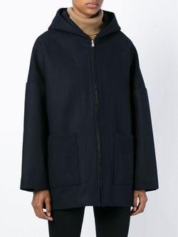 Куртка На Молнии С Капюшоном Barena                                                                                                              синий цвет