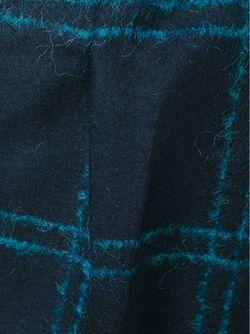 Укороченные Брюки В Клетку Forte Forte                                                                                                              синий цвет