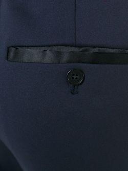 Укороченные Зауженные Брюки Forte Forte                                                                                                              синий цвет
