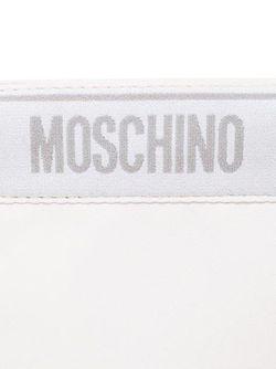 Сумка С Леопардовым Принтом Moschino                                                                                                              белый цвет