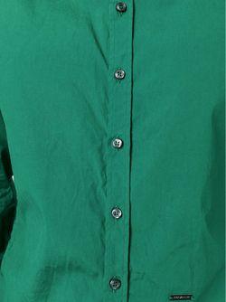 Классическая Рубашка Dsquared2                                                                                                              зелёный цвет