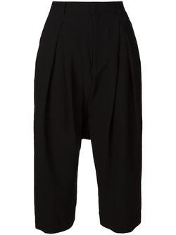 Кюлоты С Заниженной Проймой Comme Des Garçons Noir Kei Ninomiya                                                                                                              черный цвет