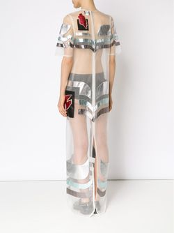 Прозрачное Платье С Аппликацией SADIE WILLIAMS                                                                                                              многоцветный цвет