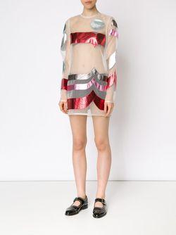 Прозрачное Платье-Шифт С Аппликацией SADIE WILLIAMS                                                                                                              многоцветный цвет
