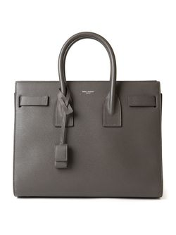 Маленькая Сумка-Тоут Sac De Jour Saint Laurent                                                                                                              чёрный цвет