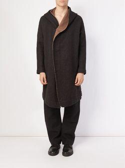 Пальто С Капюшоном UMA WANG                                                                                                              чёрный цвет