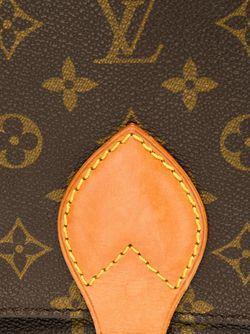 Сумка Cartouchiere Mm На Плечо LOUIS VUITTON VINTAGE                                                                                                              коричневый цвет