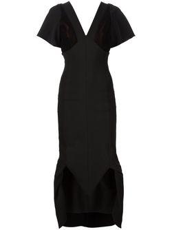 Платье С Сетчатыми Вставками MICOL RAGNI                                                                                                              чёрный цвет