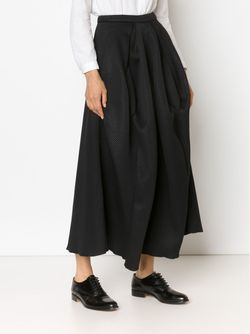 Structured Pleat Skirt MICOL RAGNI                                                                                                              чёрный цвет