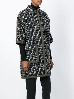 Пальто С Узором Emanuel Ungaro                                                                                                              черный цвет