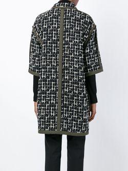 Пальто С Узором Emanuel Ungaro                                                                                                              чёрный цвет