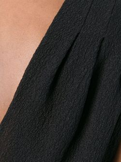 Драпированный Топ Без Рукавов Emanuel Ungaro                                                                                                              чёрный цвет