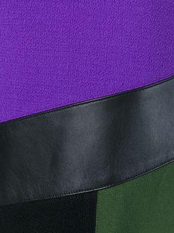 Юбка С Панельным Дизайном Emanuel Ungaro                                                                                                              черный цвет