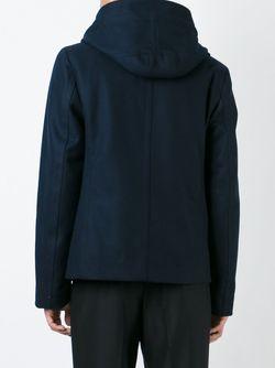 Двубортное Пальто Gustaf Andrea Pompilio                                                                                                              синий цвет