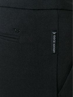 Брюки-Дудочки ARMANI JEANS                                                                                                              черный цвет
