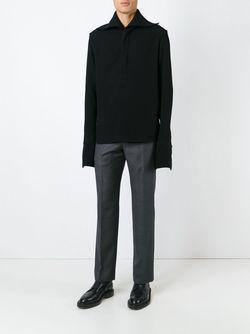 Рубашка С Удлиненными Рукавами J.W. Anderson                                                                                                              чёрный цвет