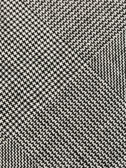 Галстук В Ломаную Клетку WOOSTER + LARDINI                                                                                                              черный цвет
