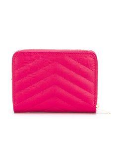 Кошелек Monogram Saint Laurent                                                                                                              розовый цвет