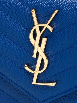 Сумка-Клатч Monogram Saint Laurent                                                                                                              синий цвет
