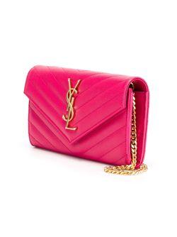 Сумка-Клатч Monogram Saint Laurent                                                                                                              розовый цвет
