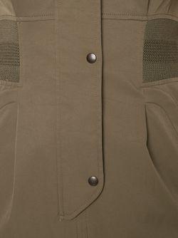 Облегающее Платье-Рубашка MAME                                                                                                              зелёный цвет