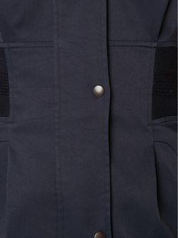 Облегающее Платье-Рубашка MAME                                                                                                              синий цвет