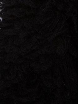 Фактурный Шарф LOST AND FOUND                                                                                                              чёрный цвет