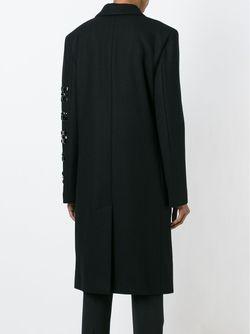 Пальто С Декорированным Рукавом DKNY                                                                                                              чёрный цвет