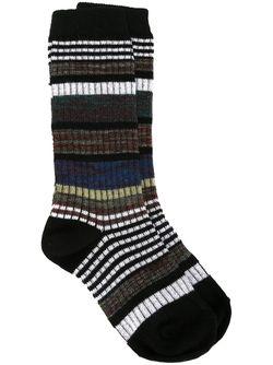 Носки В Полоску Marni                                                                                                              черный цвет