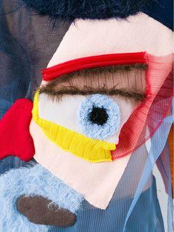 Свитер С Аппликацией WALTER VAN BEIRENDONCK VINTAGE                                                                                                              синий цвет