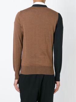 Кардиган Контрастной Расцветки Vivienne Westwood                                                                                                              серый цвет