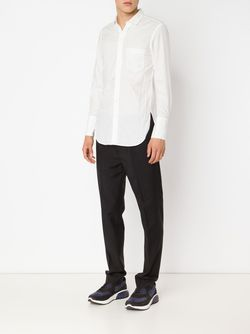 Рубашка С Нагрудным Карманом BED J.W. FORD                                                                                                              белый цвет