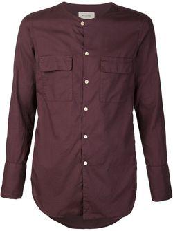 Рубашка Без Воротника С Накладными Карманами BED J.W. FORD                                                                                                              красный цвет