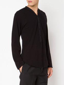 Рубашка С V-Образным Вырезом BED J.W. FORD                                                                                                              черный цвет